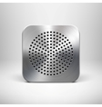 Speaker App Icon vector image vector image
