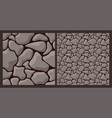 texture with rough stone vector image