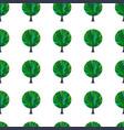 tree hand drawn patterns-12 vector image vector image