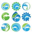 water plumbing vector image vector image