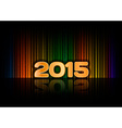 Background 2015 vector image vector image