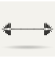 Barbell1 vector image vector image