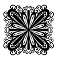 Beautiful Deco Square vector image