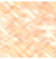 Geometric background with triangles Random colors vector image vector image