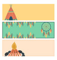 indians icon temple ornament cards element retro vector image vector image