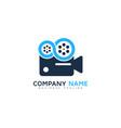 Infinity video logo icon design