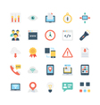 Internet Icons 5 vector image vector image
