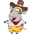 little cow Cartoon vector image
