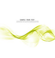 abstract background wave of smoke vector image