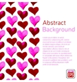 Abstract aquarelle object on a background vector image