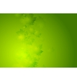 Abstract summer background with green vector image
