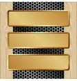 boardMett3BanGd vector image