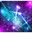color square pixel background vector image