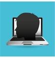 eduation online concept school background vector image vector image