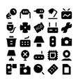 Electronics icons 8 vector image vector image