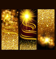 gold dust glitter for design vector image