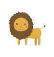 Lion Realistic Childish vector image vector image
