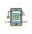 mobile cell hardware network abstract flat color vector image