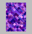 modern gradient abstract square poster template vector image vector image