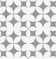 Perforated pointy four foils vector image vector image
