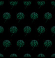 trees pattern gradient hand drawn-09 vector image vector image
