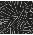 surgical istruments and tools for surgery seamless vector image