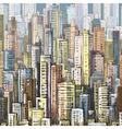 Cityscape architecture vector image vector image
