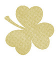 clover leaves distress vector image