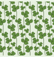 clover seamless pattern swatch for fabric textile vector image vector image