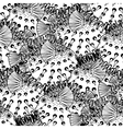 Graphic puffer fish pattern