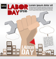 Labor day conceptual EPS10 vector image vector image