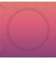 mandala frame background vector image vector image