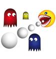 retro games vector image vector image