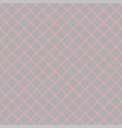 seamless abstract diagonal grid squares gray vector image vector image
