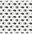 seamless pattern with hand evil eye vector image vector image