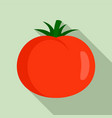 sweet tomato icon flat style vector image vector image