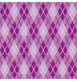 Textile Fabric Rhombs Seamless Texture vector image