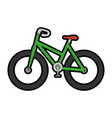 bicycle icon image vector image vector image