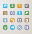 Computer and Business icons set vector image