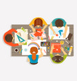 creative workshop for children vector image