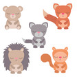 cute animals cute animals vector image