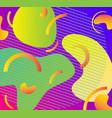 fluid futuristic design poster liquid color vector image vector image