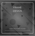 monocrome geometric diagonal blackwhite vector image vector image