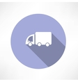 Truck transport icon vector image