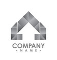 abstract realty logo - logo concept abstract vector image vector image