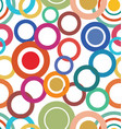 abstract seamless modern colorful retro design vector image vector image