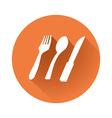 dishwadishware symbol vector image vector image