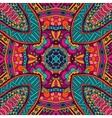 ethnic tribal seamless colorful Geometric print vector image vector image