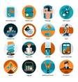 Hotel Offers Icons Set vector image vector image