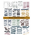 ribbons pack for design vector image